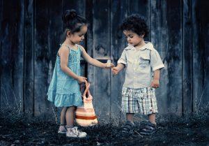Saat si kecil jatuh cinta